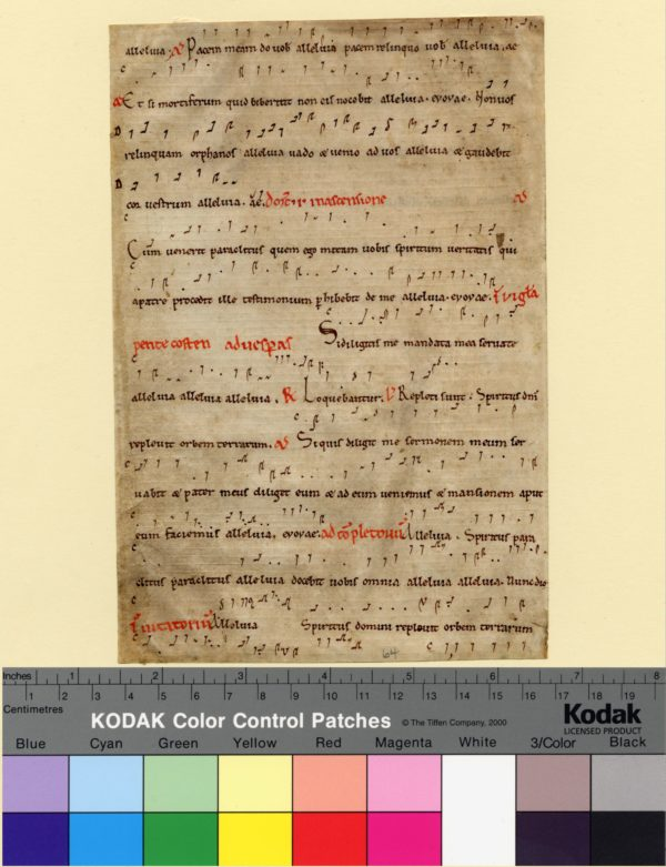 Columbia, University of Missouri, Ellis Library, Special Collections, Fragmenta Manuscripta 064, recto