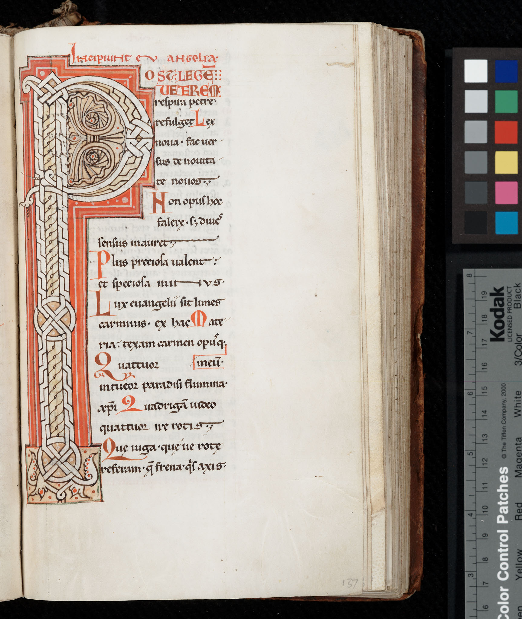 Lawrence, University of Kansas, Spencer Research Library, Spec. Coll., MS C195, f. 137r