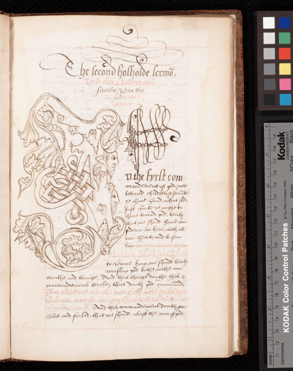 Lawrence, University of Kansas, Spencer Research Library, Spec. Coll., MS D31, f. 19r