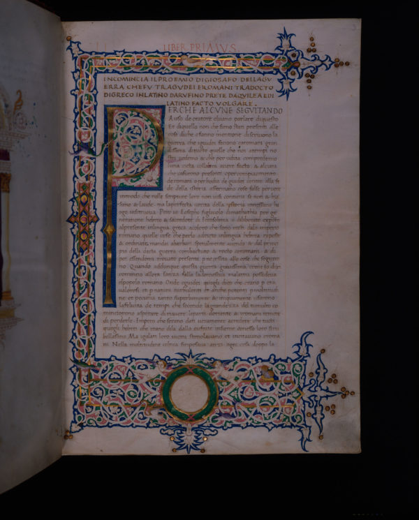 Baltimore, Johns Hopkins University, The John Work Garrett Library, Gar. 15, f. 3
