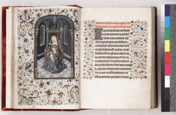 Philadelphia, Free Library of Philadelphia, Rare Book Department, Widener 005, ff. 13v-14r