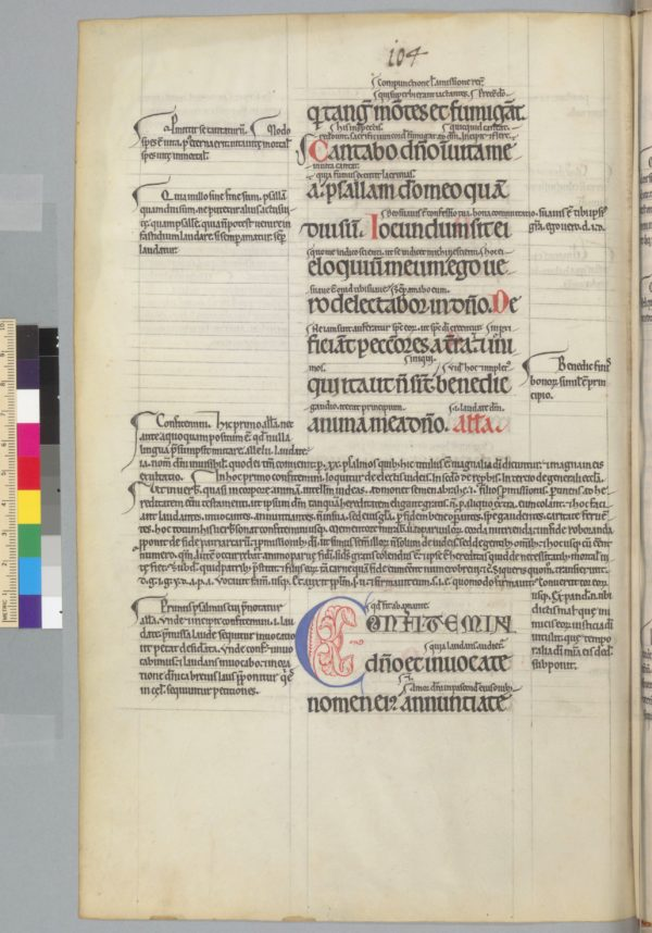 Berkeley, University of California, Bancroft Library, UCB 147, f. 20v