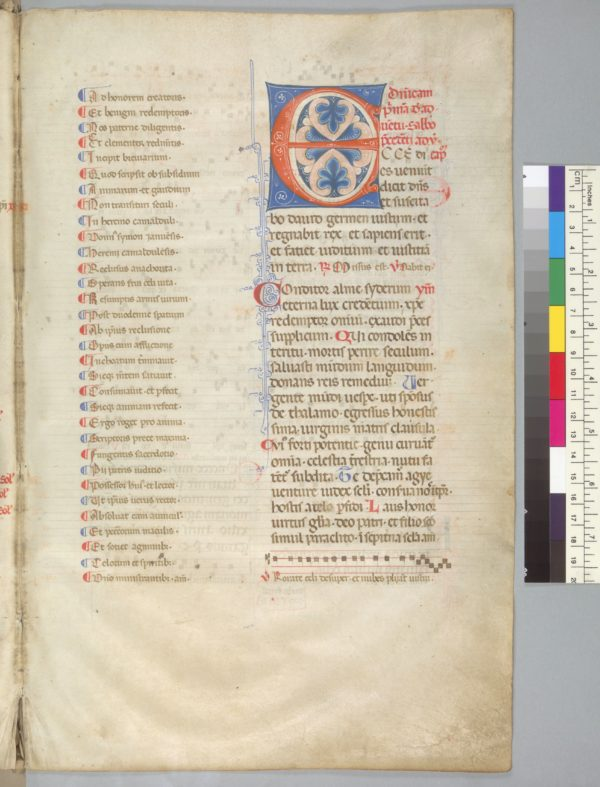 Berkeley, University of California, Music Library, Music Library MS 0752, f. 5r