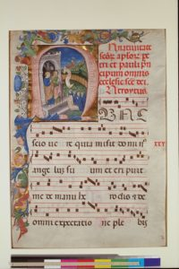 New York, Columbia University, Rare Book and Manuscript Library, Plimpton MS 040A, f. 1